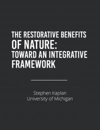 benefits of nature