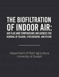 biofiltration of indoor air