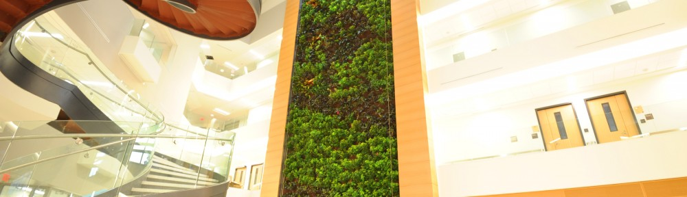 Parker Interior Plantscapes - Project 2012 - Green Plants for Green Buildings