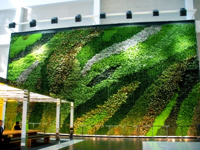 Plant Connection, Inc. - NY_13_23 Story Atrium Living Wall_Pic1