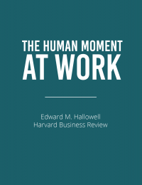 Human Moment at Work