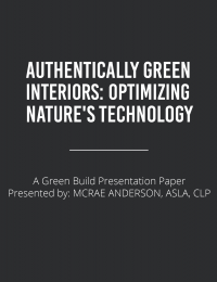 Authentically Green Interiors