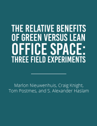 green vs lean office space