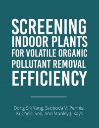 indoor plants voc removal