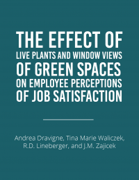green spaces and job satisfaction