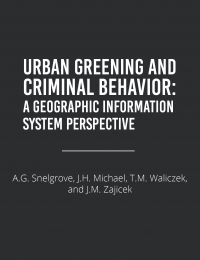 urban greening and criminal behavior