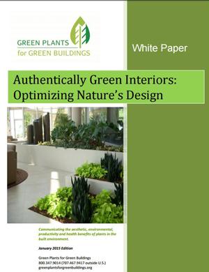 Authentically Green Interiors Whitepaper