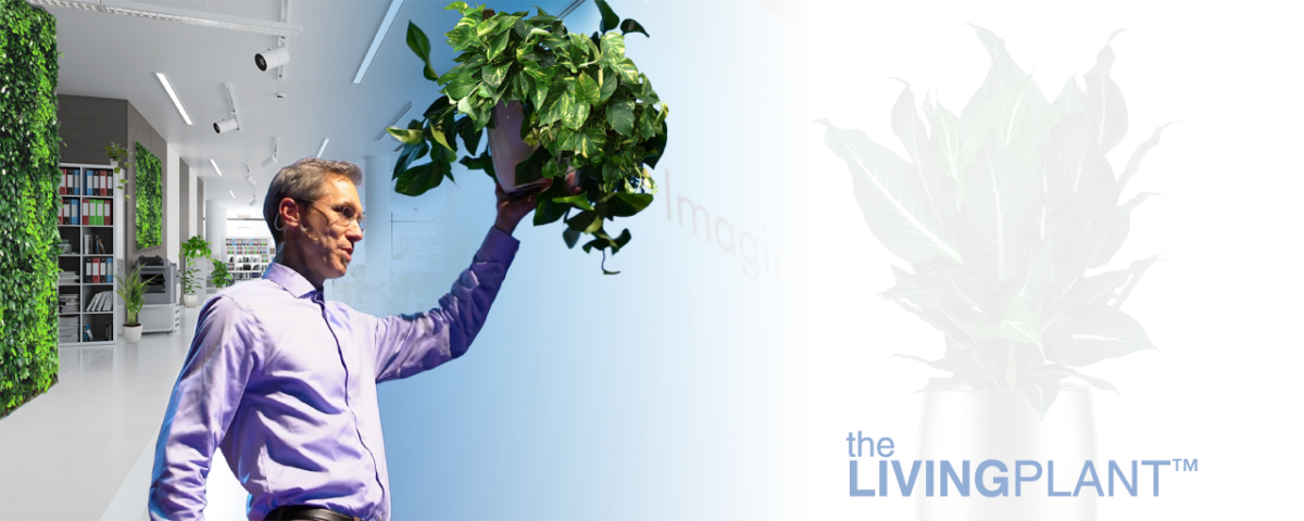 Introducing Nature's Modern Technology - the LIVING PLANT