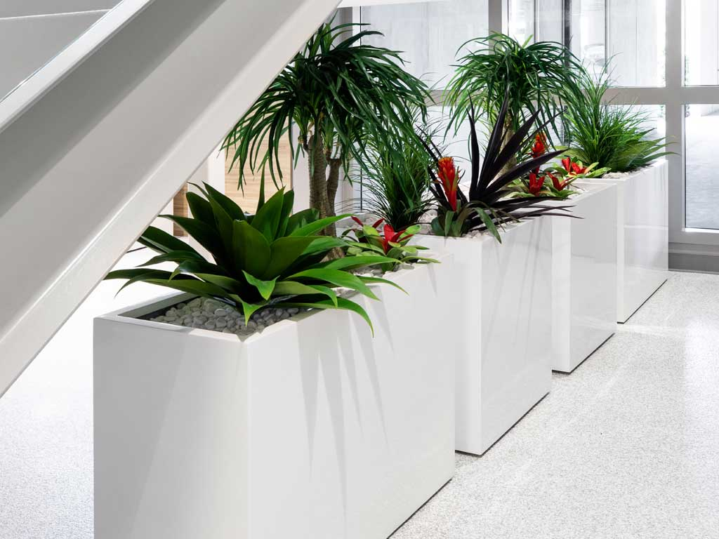 NewPro Containers Fiberglass Planter Collection