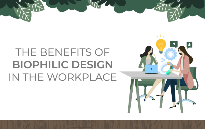 Plants in the Workplace: The Benefits of Biophilic Design [Infographic]